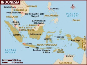 Coffee Map Asia