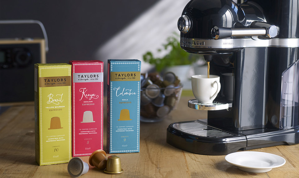 Taylors Coffee Capsules