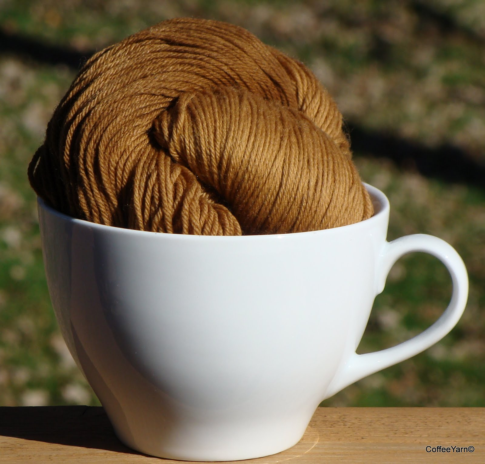 Coffee Dyed Yarn 005