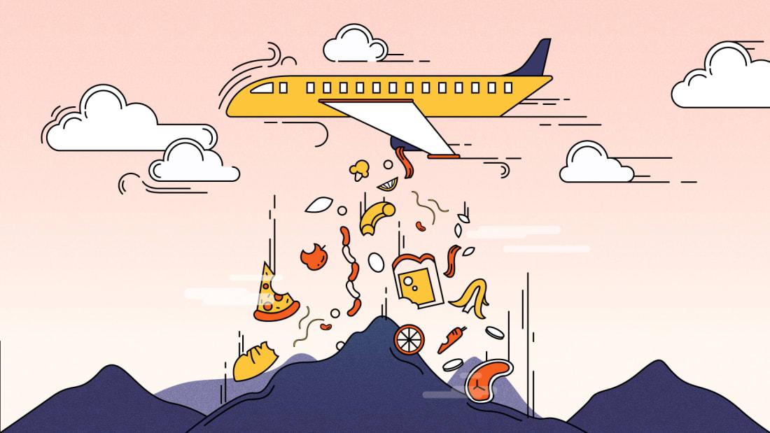airline-food-waste