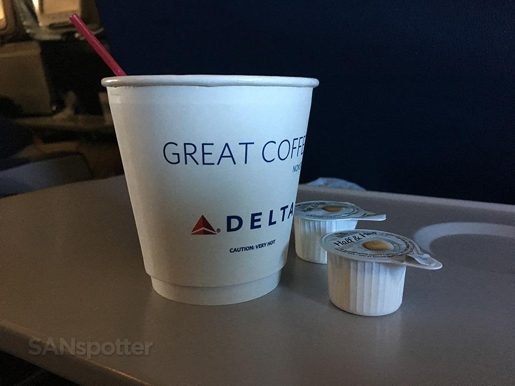 Delta Air Lines 767-400 ATL-SAN trip report